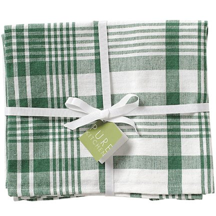 Jumbo Teatowels Set of 3 - Laurel Green - Buy Jumbo Teatowels Set of 3 - Laurel Green - Purchase Jumbo Teatowels Set of 3 - Laurel Green (Now Designs, Home & Garden, Categories, Kitchen & Dining, Kitchen & Table Linens, Dish Cloths & Dish Towels)
