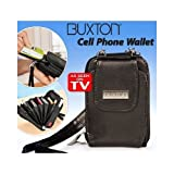 Buxton Wallet For Most Mobile Phones - Black - As Seen On TV