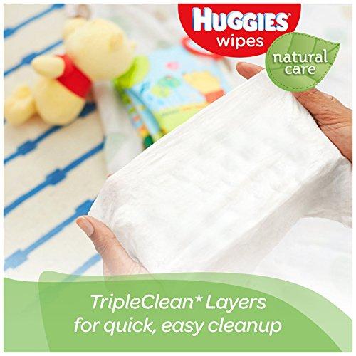 Huggies Natural Care Baby Wipes, Clutch \u0026#39;N\u0026#39; Clean, 32 Wipes ...