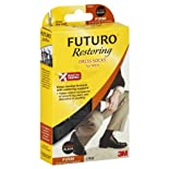 Futuro Restoring Dress Socks, XLarge, Black