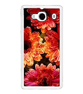 ifasho Flowers Back Case Cover for Redmi 2S