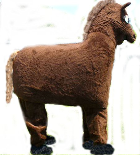 Mascots USA by CJs Huggables Custom Pro Low Cost Two Person Horse Mascot Costume