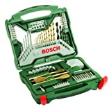 51X9K7qdMQL. SL160  Bosch 70 Piece Titanium Drill and Screwdriver Set