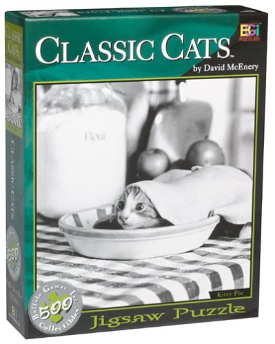 Classic Cats Kitty Pie Jigsaw Puzzle 529pc