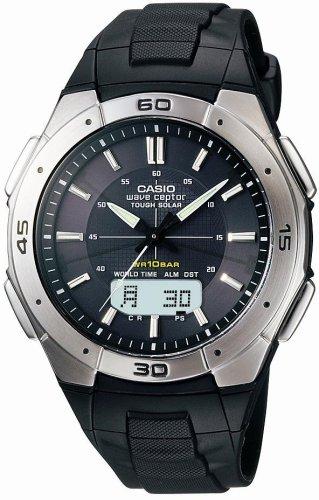 CASIO (カシオ) 腕時計 WAVE CEPTOR ウェーブセプター タフソーラー 電波時計 WVA-470J-1AJF