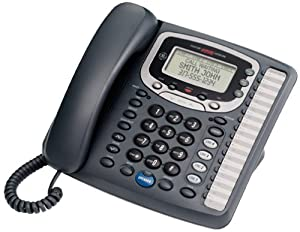 GE 29488GE2 4-Line Expandable Business Speakerphone with Caller ID and Data Port