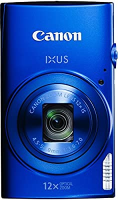 Canon IXUS 170 Digitalkamera (20 Megapixel, 12-fach optisch, Zoom, 24-fach ZoomPlus, opt. Bildstabilisator, 6,8 cm (2,7 Zoll) LCD-Display, HD-Movie 720p)