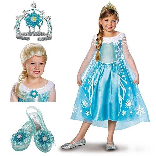 Frozen Elsa Child Costume Kit Large