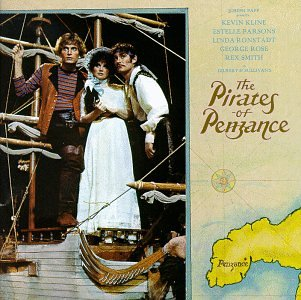 The Pirates of Penzance by Gilbert, Sullivan, Joseph Papp, Kevin Kline and Estelle Parsons