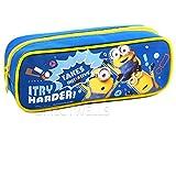 Despicable Me Minions I Try Harder  Pencil Case (1 Pencil Case) (Blue)