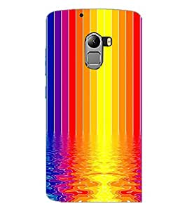 PrintDhaba Colour Design D-2296 Back Case Cover for LENOVO K4 NOTE A7010a48 (Multi-Coloured)