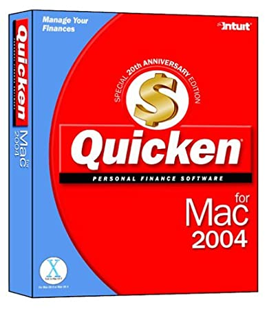 Quicken 2004 for Mac