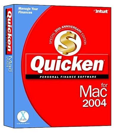 Quicken 2004 for Mac
