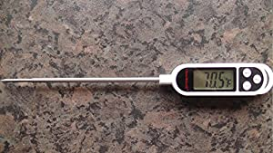 Oliver&Smith 2.0 VERSION - Fast INSTANT READ Digital Meat Thermometer - Fully WATER RESISTANT- Stocked in the USA - Stylish - Elegant Easy-to-use Kitchen Accessory That Takes the Guesswork Out of Your Cooking