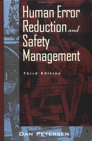 Human Error Reduction 3e (Industrial Health & Safety)