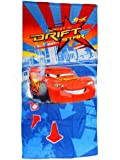 Disney Cars Lightning Mcqueen Drift Beach Bath Towel