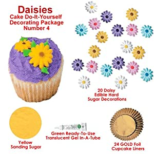 Daisy Cakes Cupcakes Decorating