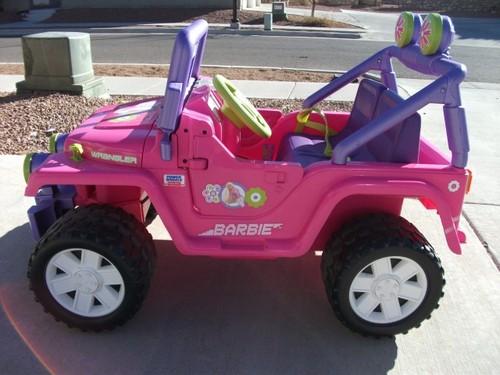 Barbie Electric Car: Barbie Jammin Jeep On Shoppinder