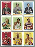 "2008 / 2009 Topps Basketball ""1958-59 Variations"" Complete Mint 30 Card Insert Set Including Lebron James, Dwayne Wade, Chris Paul, Kobe Bryant, Kevin Garnett, Carmelo Anthony, Jarry Bird, Magic Johnson, Jerry West, Bill Russell, Dwight Howard, Derrrick Rose, Michael Beasley, O.j. Mayo, Kevin Love, Eric Gordon, Brook Lopez and Many Others"