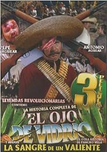 Amazon.com: La Historia Completa De: El Ojo De Vidrio - 3 Peliculas