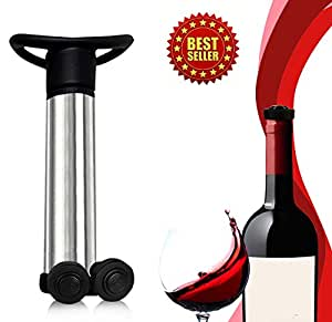 My Wine Vacuum Stoppers™ ★Save your wine ★High quality material ★Ergonomically designed ★Easy fit stoppers for every wine bottle ★Never waste wine again