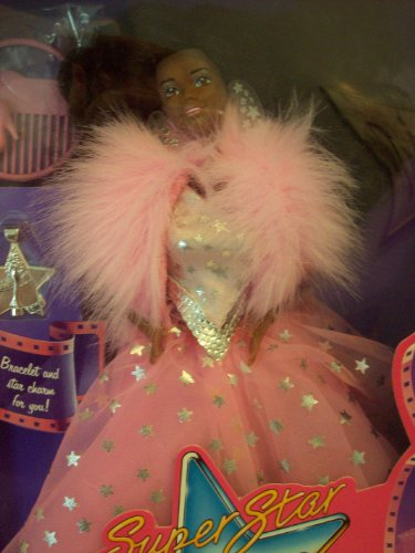 Super Star Barbie 1988 - African American front-934445