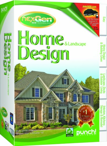 Punch home and landscape design with nexgen technology v2 for Nexgen home and landscape design