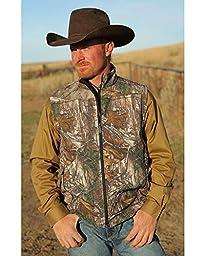 Cinch Men\'s Realtree Xtra Camo Bonded Vest Multi XX-Large