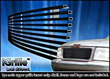 Black Stainless Steel eGrille Billet Grille Grill For 1998-2003 GMC Jimmy/S-15 Pickup/Sonoma