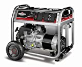Briggs & Stratton 6,875 Watt 305cc Gas Powered Portable Generator With Wheel Kit 30468