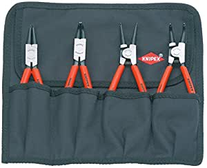 KNIPEX(クニペックス)  4本組 スナップリングプライヤー 1956