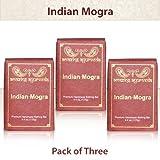 Amazing Ayurveda Premium Handmade Soap - Gentle Handmade Soaps Made Using Nature's Finest Herbs and Oils - Pack of 3 (Indian Mogra)