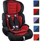 Siège auto enfant - groupe I/II/III (9 à 36 kg) - appui-tête rembourré réglable et réducteur d'assise - DIVERSES COULEURS AU CHOIX