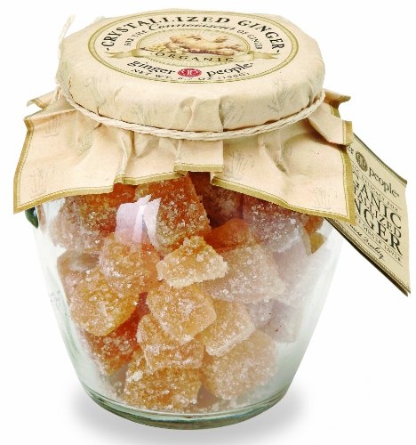 Organic Crystallized Ginger Jar 2Pk - 1