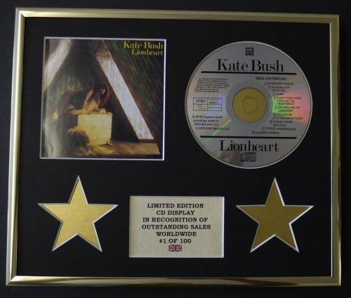 KATE BUSH/CD Display/Limitata Edizione/Certificato di autenticità/LIONHEART