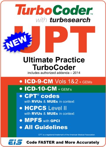Ultimate Practice Turbocoder (Upt) 2014 - Cpt Codes, Hcpcs, 9-Cm & 10-Cm For Physicians - Secure Windows App - No Ongoing Subscription Fees [Download]