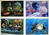 Disney Pixar Finding Nemo Lithograph Set