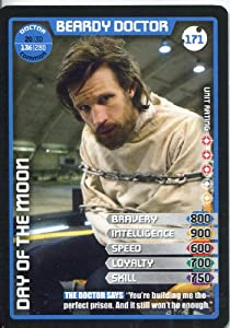 Doctor Who Monster Invasion Extreme Common Card #171 Beardy Doctor