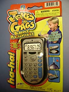 Oops Jokes and Gags Squirt Calculator