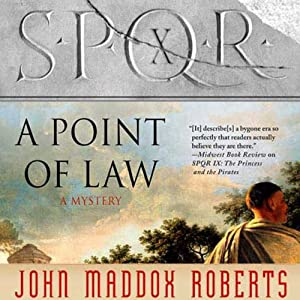 SPQR X: A Point of Law Hörbuch