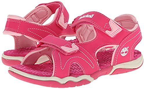 01. Timberland Adventure Seeker Two-Strap Sandal (Toddler/Little Kid)