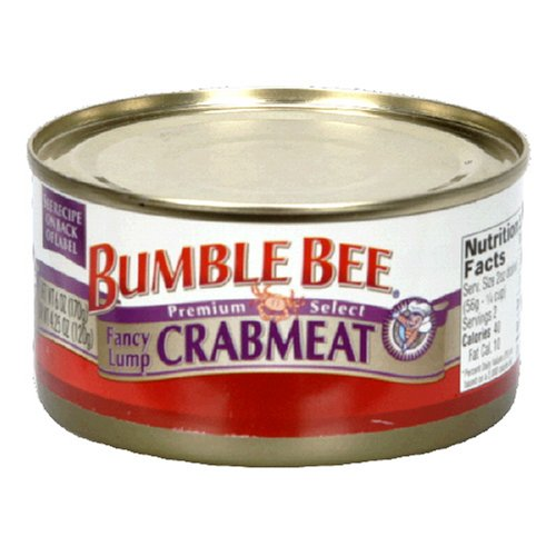 Bumble Bee Lump Crabmeat, 6-Ounce Cans (Pack of 6) (Can Crab compare prices)