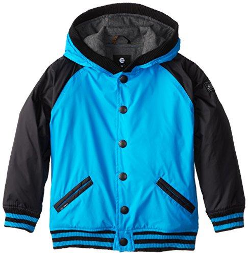 Billabong Little Boys' Kids Baldwin Jacket, Vivid Blue, 5/Medium front-239211