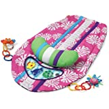 Infantino Surfboard Tummy Time Mat Pink (Discontinued by Manufacturer)
