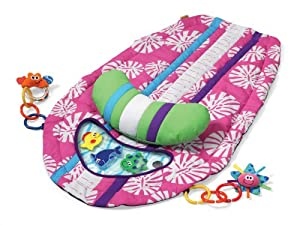 Infantino Surfboard Tummy Time Mat Pink