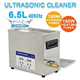 Zeny® Commercial Stainless Steel Ultrasonic Cleaner 6.5l Liter...