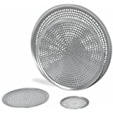 """Browne (575356) 16"""" Perforated Aluminum Pizza Tray"""