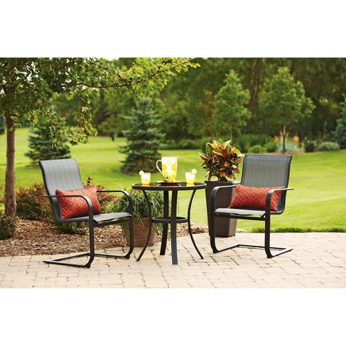 Pyros 3-piece Outdoor Bistro Set, Seats 2 Charming Way to Liven up Your Deck or Outdoor Patio. picture