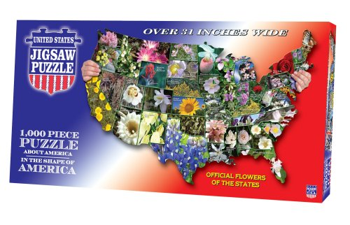 Cheap Fun TDC games USA Shaped State – Flowers Puzzle (B001CUVHKE)