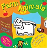 img - for A Mini Magic Color Book: Farm Animals (Magic Color Books) book / textbook / text book